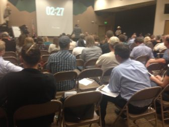 CWP Meeting, Monday 9-22-16. Photo credit Hailey Hawkins