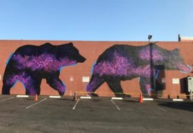 "California Grizzly Bear Series, Oakland, CA, by Roger Peet and Fernando ""Rush"" Santos"