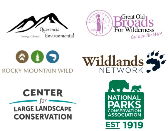 Organizational partner logos